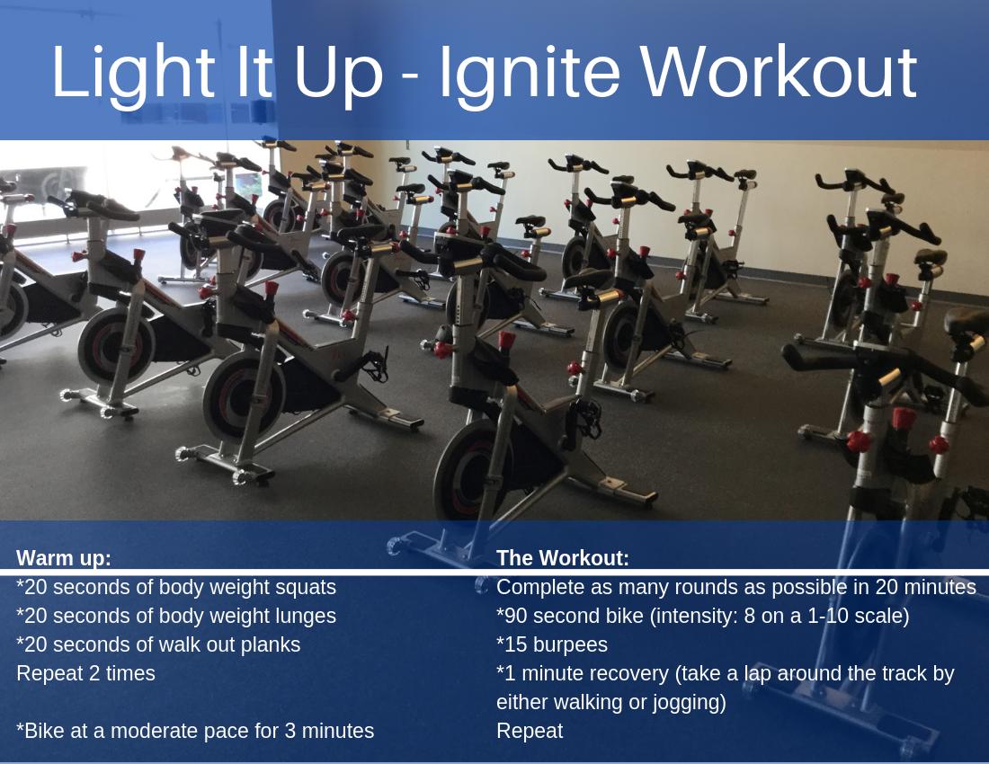 Light It Up - Ignite Workout