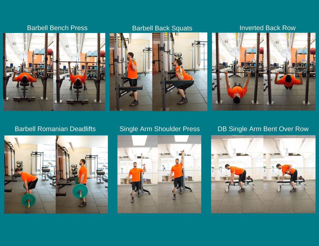 Full Body Weight Training Workout