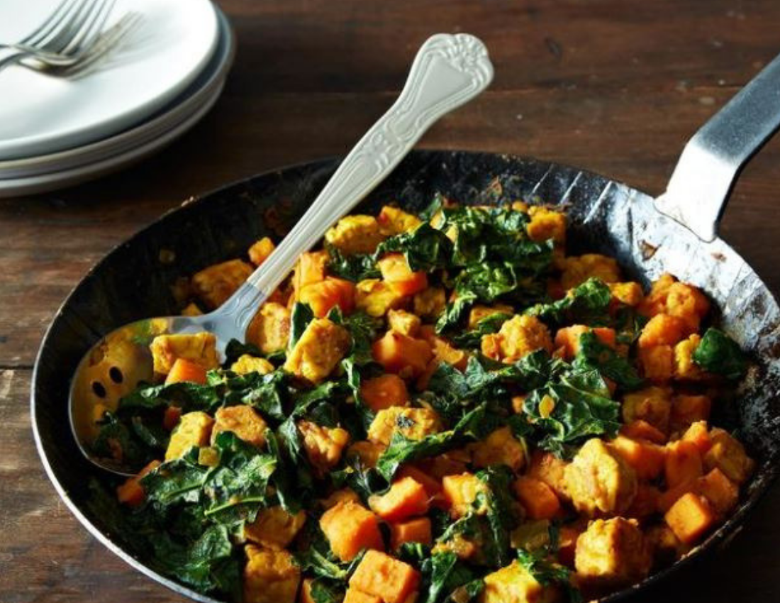 Kale Sweet Potato Hash