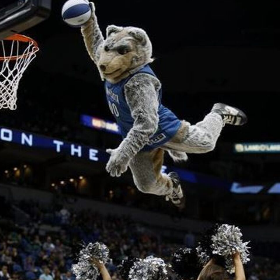 THIS JUST IN: Minnesota Timberwolves Mascot, CRUNCH will be at the Heritage Classic 5k Run/Walk Tomorrow