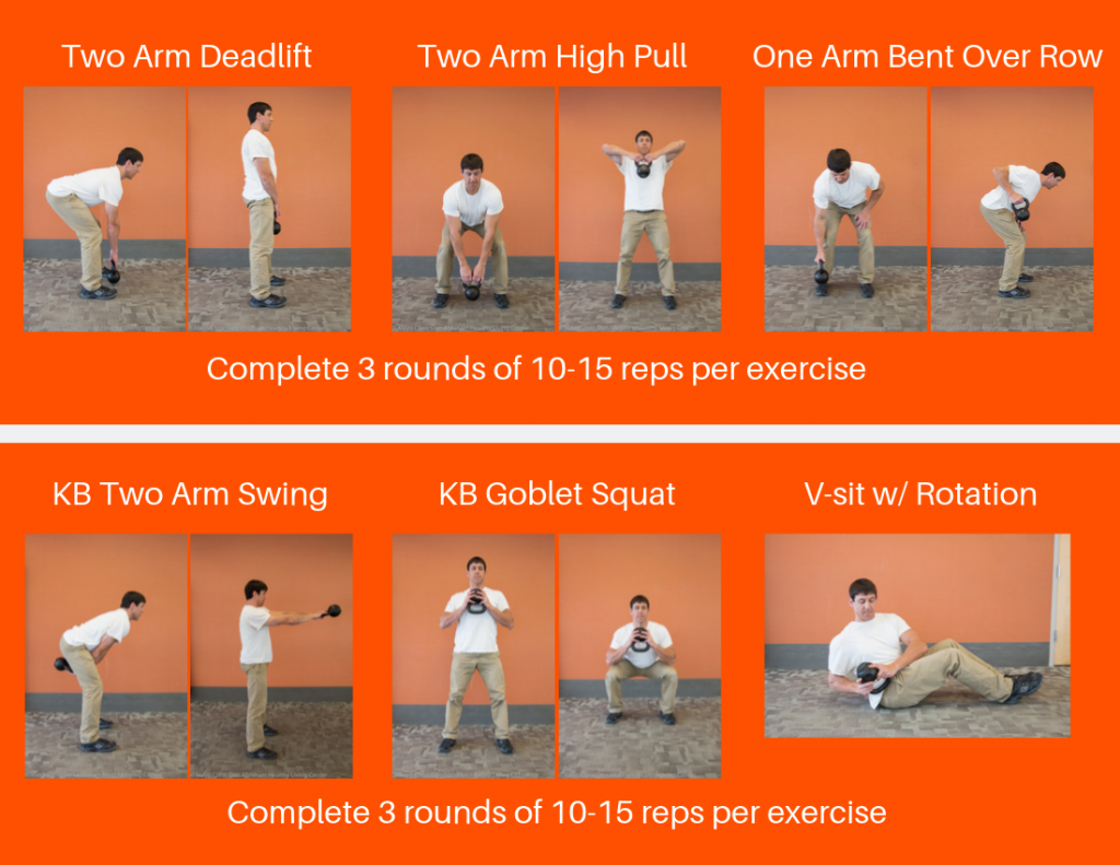 Kettle Bell Turkey Burn Workout