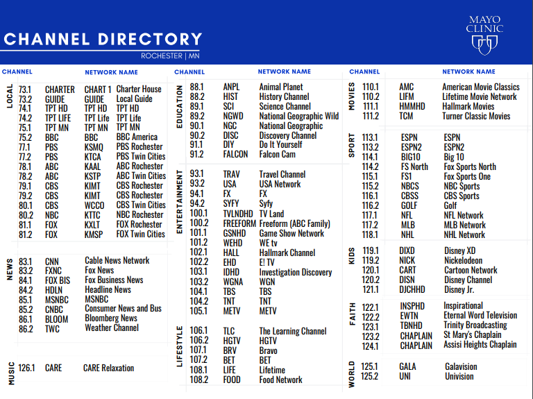 2020 DAHLC Channel Directory