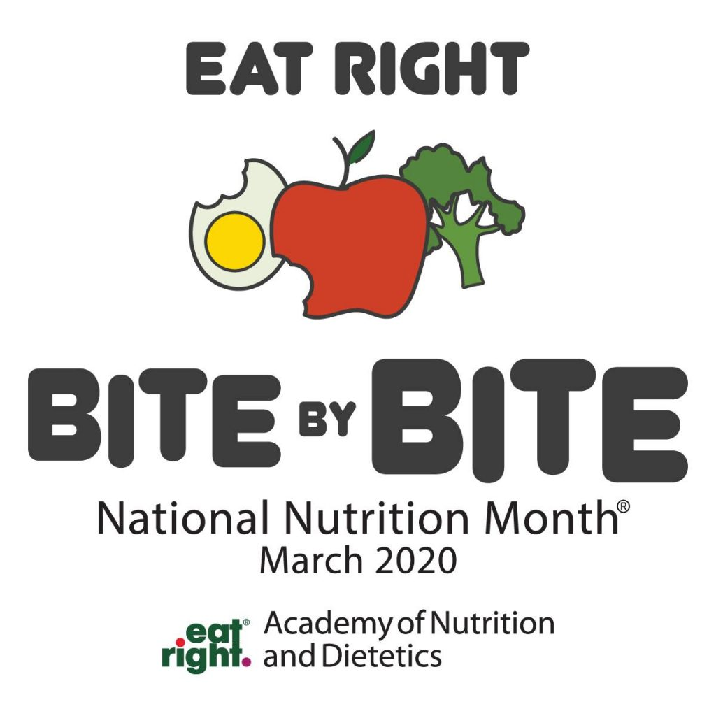 March into Nutrition Month!