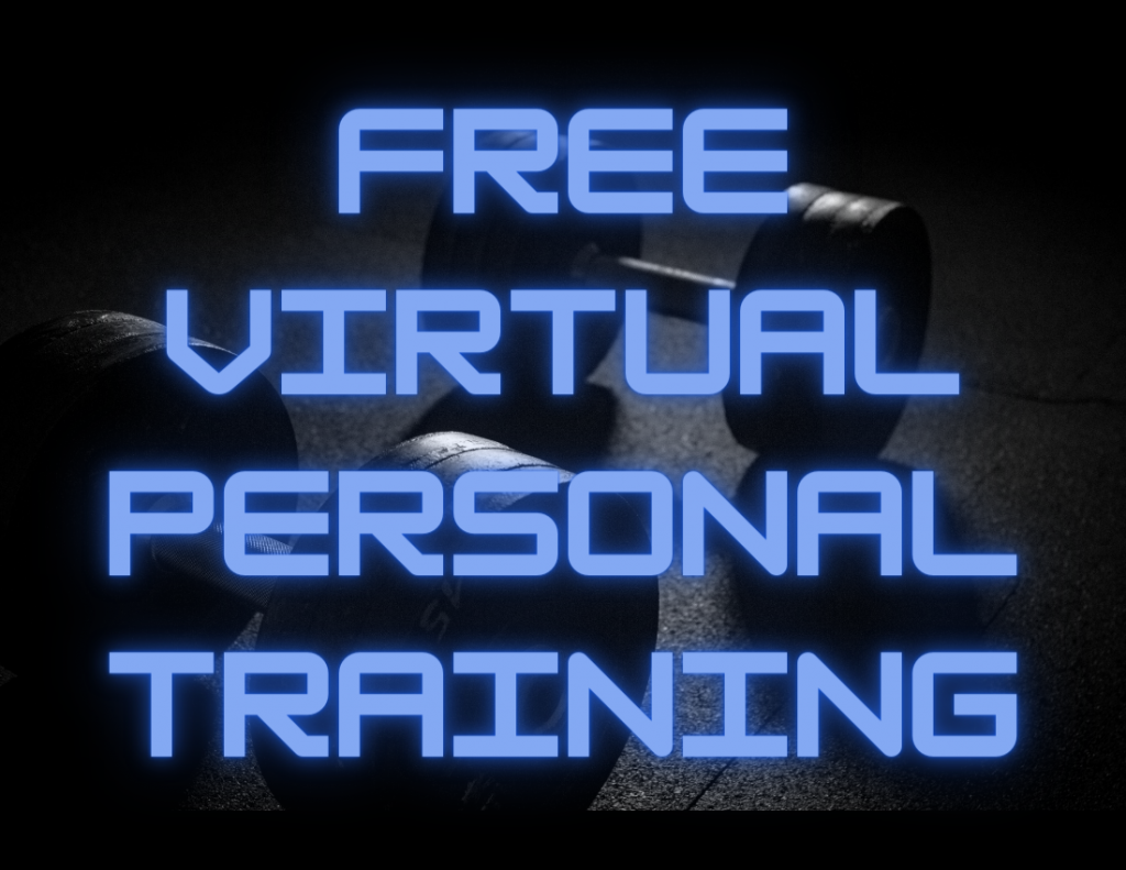March 2021: FREE Personal Training Session!