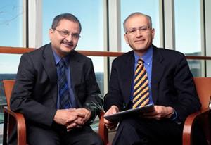 Physician-researchers behind Mayo Clinic's artificial pancreas: Ananda Basu and Yogish Kudva