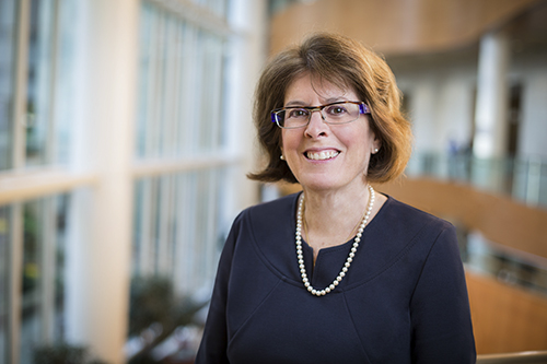 La cirujana, Dra. Heidi Nelson, dirige el programa del microbioma en Mayo Clinic.
