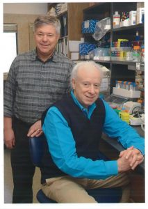 Drs. Michael Brown and Joseph Goldstein - 40 years of science. Courtesy University of Texas Southwestern Medical Center.