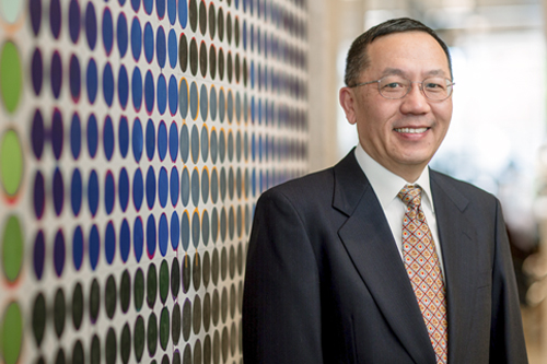 Cancer researcher Haidong Dong, M.D., Ph.D., has been at Mayo Clinic since 1998.