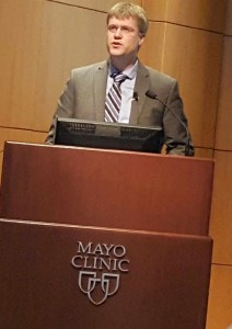 Dr. Timothy Nelson, discussing the success of the Mayo Clinic Program for HLHS