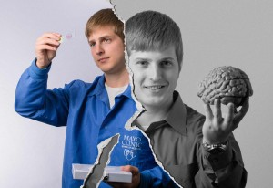 Kevin Bieniek, Mayo graduate student