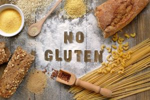Foods containing gluten