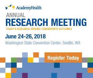 On the road to AcademyHealth's Annual Research Meeting