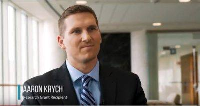 Cell therapy for cartilage defects: Aaron Krych, M.D.