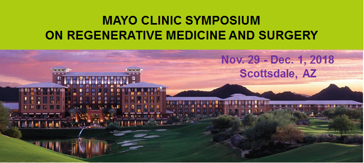 Advancing regenerative medicine practice, science and technology - 2018 symposium