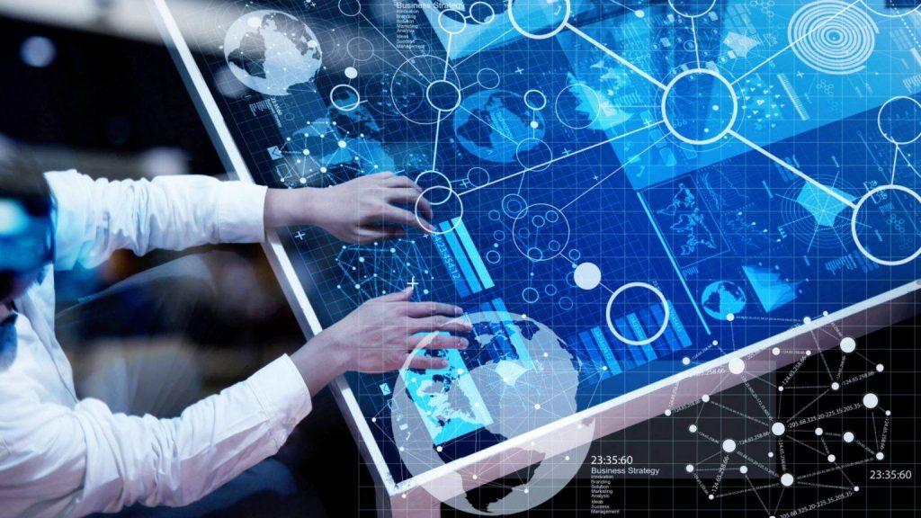 artistic interpretation of artificial intelligence and data analytics