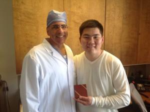 Bayasaa with Dr. Joseph Dearani