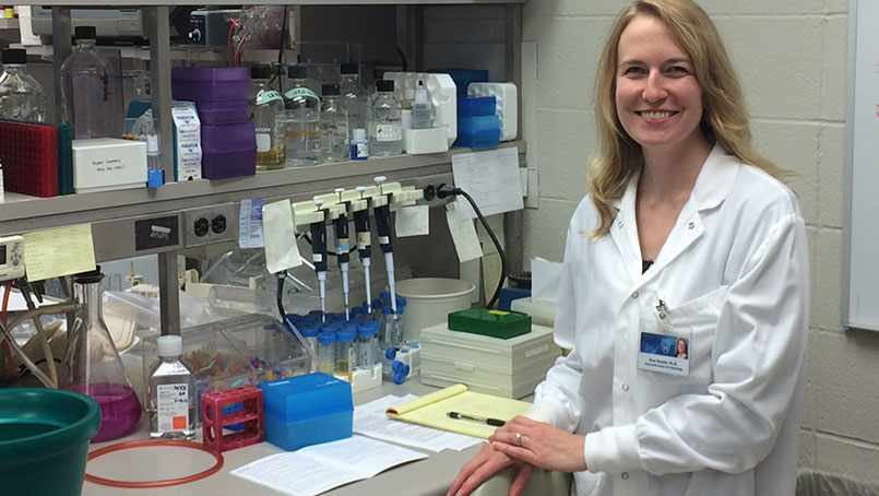 The annual Eagles Cancer Telethon on KTTC is must-see TV for many people in southeastern Minnesota — including the parents of Gina Razidlo, Ph.D., a cancer researcher at Mayo Clinic.