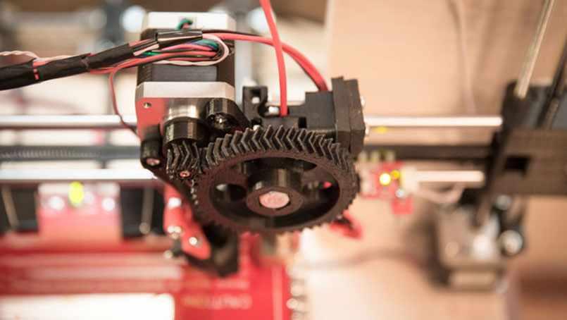 A 3-D printer provides real results for Jack Snyder