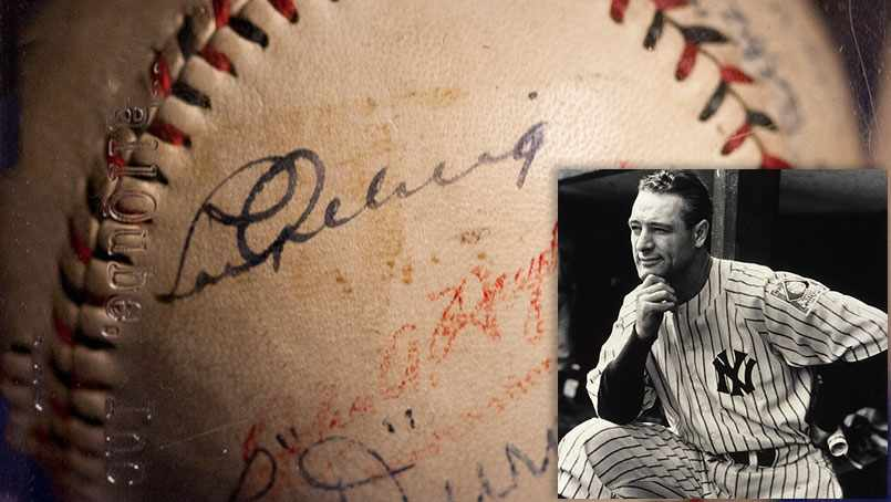 A young man named Robert Tierney was playing second base for Rochester's American Legion baseball team when he crossed paths with another of the game's all-time greats: Lou Gehrig.