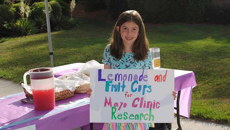"When Sylvia Buchanan learned about Dr. Mauermann's research, she decided to help out by launching ""her own fundraising effort — a lemonade stand in front of her North Carolina home."