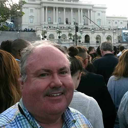 Representing Mayo Clinic, John Murphy was invited to see Pope Francis address Congress.