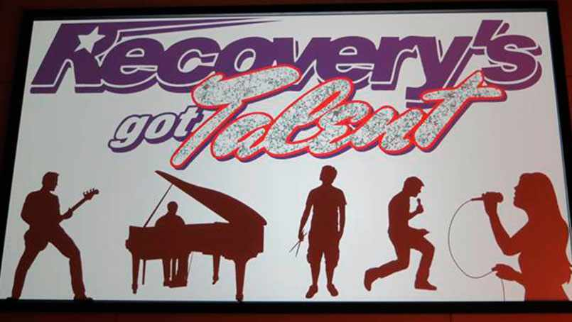 """Recovery's Got Talent"" was created to help people discover — or re-discover — talents that had been hidden by addiction."