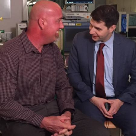 Phoenix firefighter David Wipprecht underwent a successful heart transplant surgery under the care of Evan Kransdorf, M.D., Ph.D.