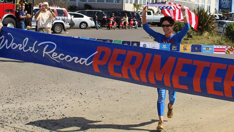 Cancer-survivor, Helene Neville, completed her most ambitious goal yet: a run around the perimeter of the United States.