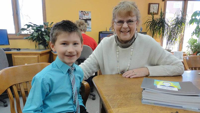 "Ruthann Gansen-Brekke decided to write ""Zachary Finds His Words"" to raise awareness for apraxia and honor Zachary Gansen for his hard work."