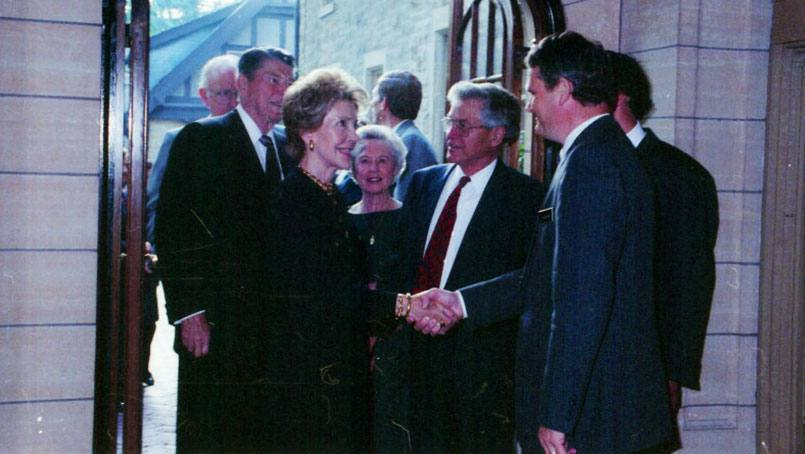 Nancy Reagan is emblematic of Mayo Clinic's unique relationship with the American presidency, spanning virtually every administration from the Civil War to the present.