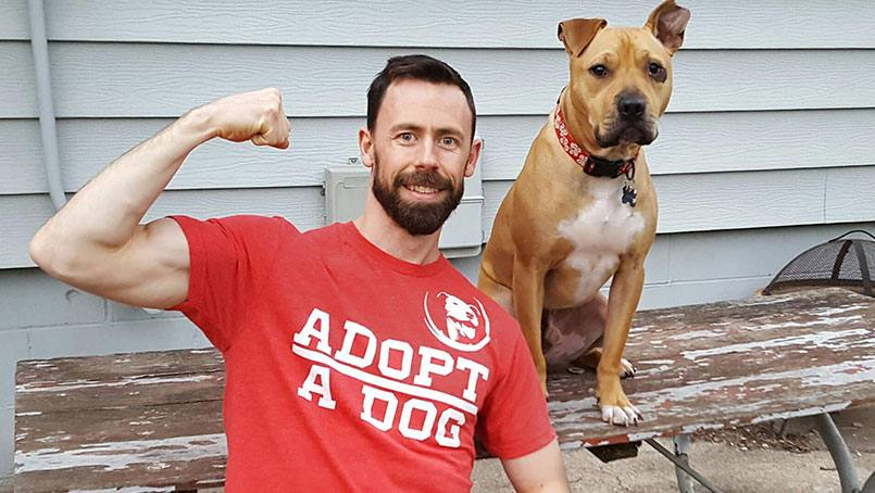 "The American Ninja Warrier competition isn't just fun and games to Andrew Yori. ""The K9 Ninja,"" as he'll be known on the show, has been rescuing dogs for more than a decade."