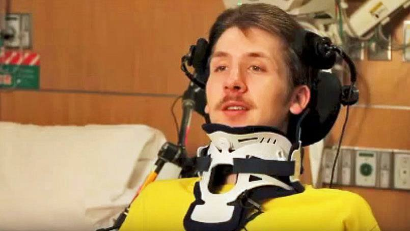 Matt Olson returned to Minnesota where he continues to receive therapy and do rehab at the Mayo Clinic Spinal Cord Injury Rehabilitation Program.