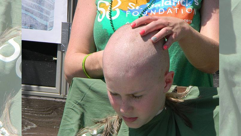When he was just 7 years old, Erik Sutter lost his hair due to side effects from cancer treatment. After it grew back, he decided to shave it off. But that shave was much more than a haircut. It was a way to raise awareness — and funds — for childhood cancer research.