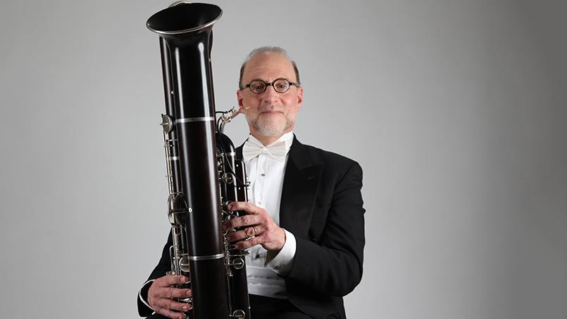 Inspired by his care at Mayo, contrabassoonist Lewis Lipnick will perform a concert with Mayo staff members.