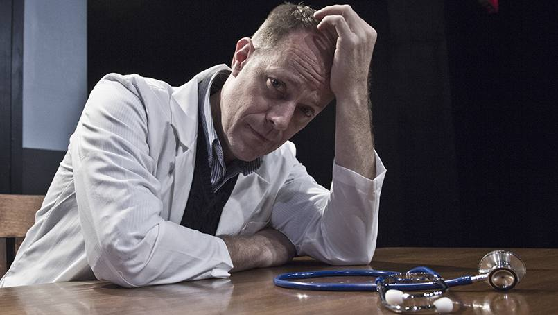 "Michael Milligan's play, 'Side Effects' examines ""what it means to be a doctor in America"" today and will be performed on Thursday, Nov. 17, in Geffen Auditorium on Mayo Clinic's Rochester campus."
