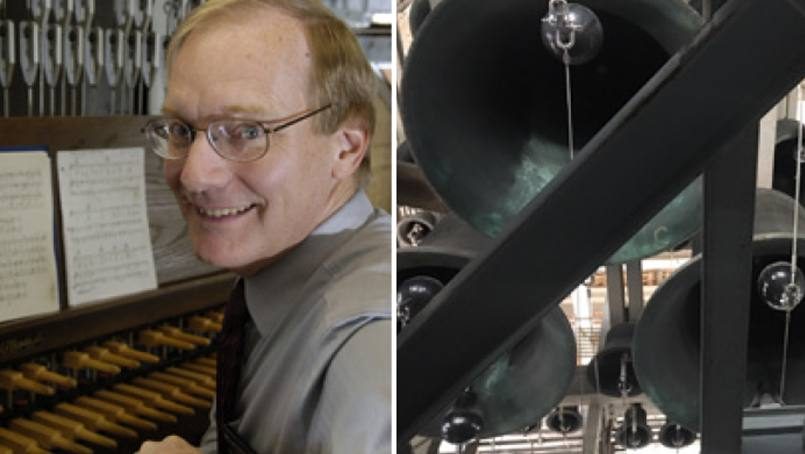 Carillonneur Jeff Daehn's favorite memories over the years are of the people he's met.