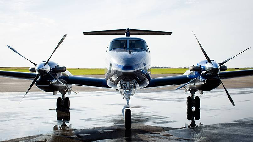 The new Mayo One airplane delivers high-risk patients to Mayo Clinic.