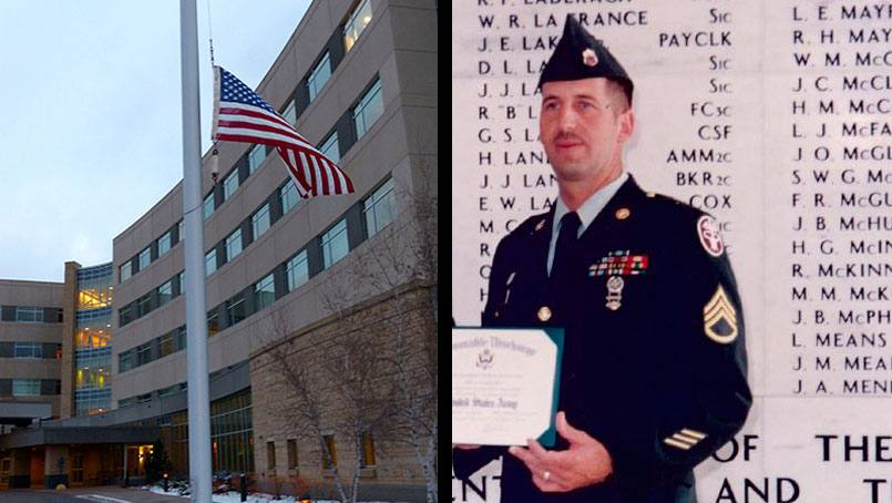 For the past 20 years, retired Master Sergeant Guy Rex has kept the flag he flew at the site of the U.S.S. Arizona Memorial at Pearl Harbor in storage. This year he offered it to be flown at the Mayo Clinic Health System site for which he works as a tribute to those who lost their lives.