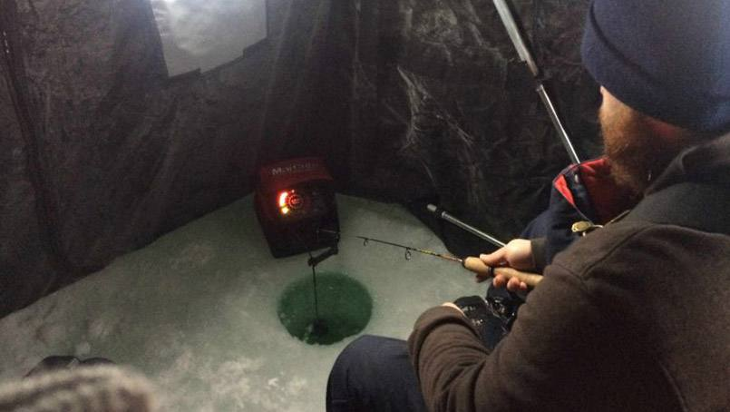 "Gus, from the ""Saving Lives with Gus"" video series, has returned to the small screen to help his surgical resident friends at Mayo Clinic talk about ways to keep ourselves safe and alive while ice fishing."