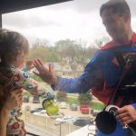 Superman Flies in to Brighten the Day for One Young Cancer Patient