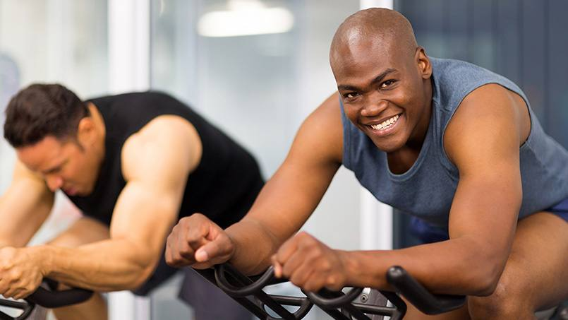 Mayo Clinic researchers have found that high-intensity interval training — alternating short, intense bursts of exercise with more moderate effort — can slow the aging process.