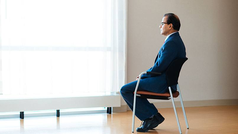 According to Amit Sood, M.D., practicing mindfulness is a good way to cope with the unexpected ups and downs of life.