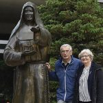 Relative of Mother Alfred Moes Visits Mayo Clinic