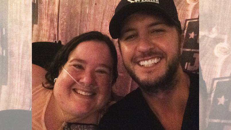 When Jennie Geurts came in for a recent appointment at Mayo Clinic Health System in Eau Claire, her care team surprised her with something unexpected. Call it the Luke Bryan Treatment.