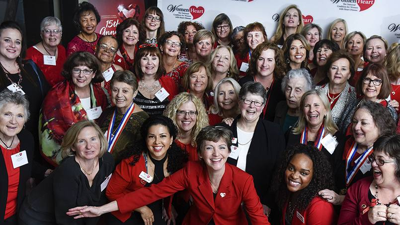 Dina Piersawl didn't know she was at risk for heart disease. Having a stroke at age 41 changed that. Now, she's determined to help educate other women about heart health through her work with WomenHeart.
