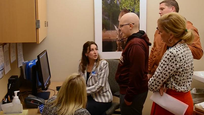 Earlier this year, Jonathan Morris, M.D., attended a fundraising event for the Ronald McDonald House of Rochester. The evening included the premier of a video featuring the story of one young cancer patient who Dr. Morris says he will never forget.