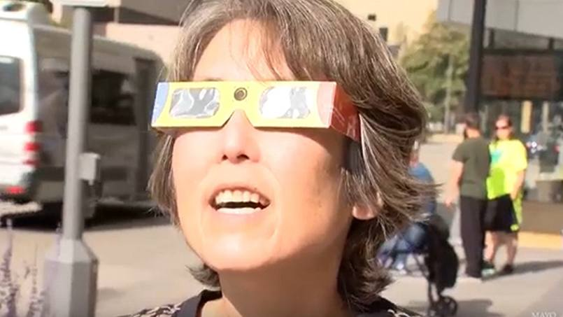 Get yourself, and your eyes, prepared to safely take in Monday's total or partial solar eclipse of the sun by following these tips and advice from Mayo Clinic ophthalmologists.