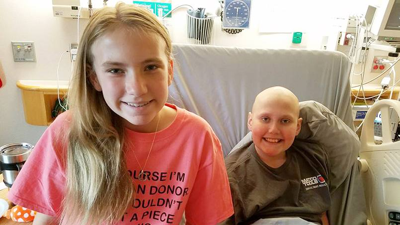 When Jack Vold needed a bone marrow transplant, his family members were tested to see if they could be donors. His twin sister, Kaylie, turned out to be a perfect match. The procedure, which took place in May, has brought the siblings closer together.
