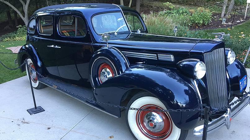 1938 Packard Eight Sedan owned by Lyle Lieder.