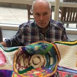 Cancer Patient Crochets Blankets of Comfort and Hope for Others in Need